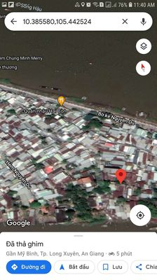 Đất ở đuong Bờ Kè, phuong Mỹ Bình (32m2)
