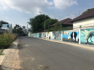 Nền Góc lớn khu dân cư Lê Chân