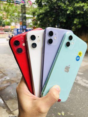 IPHONE 11 QUỐC TẾ 64GB (ĐẸP ZIN KENG TRẢ GÓP 0%)