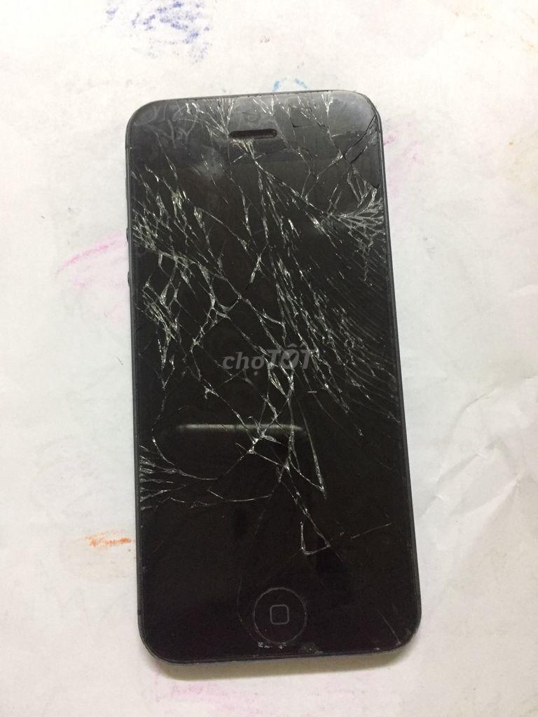 Iphon 5 vỡ kính màn hình