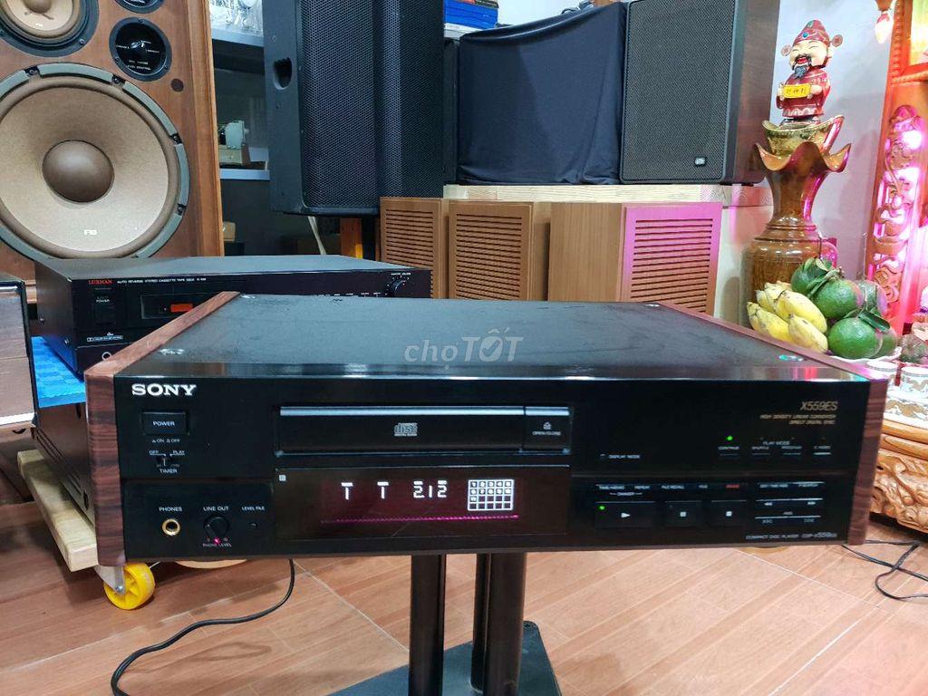 Đầu CD - Sony CDP - X559 Es