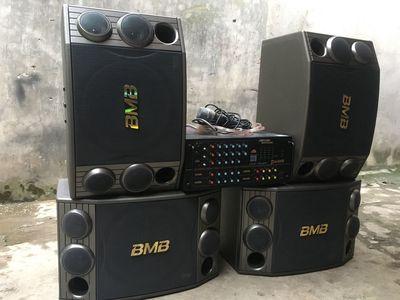 Bộ 4 loa BMB 2000 Bát 30 Bãi ;JAGUA 506N Komi