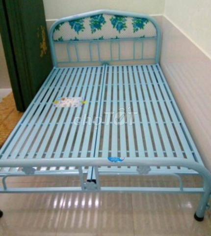 Giường sắt sơn tĩnh điện, duy phương. New fship