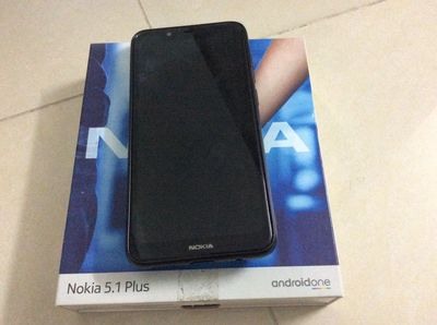 Nokia thông minh 5.1 Plus 32 GB đen