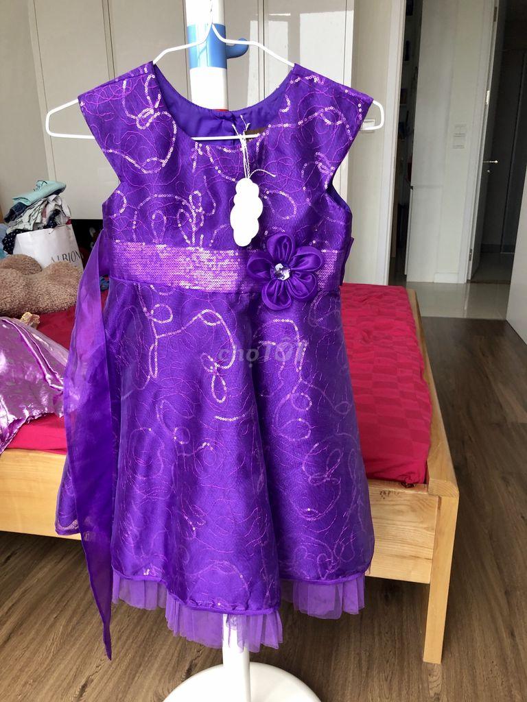 0909007658 - Đầm công chúa cho bé
