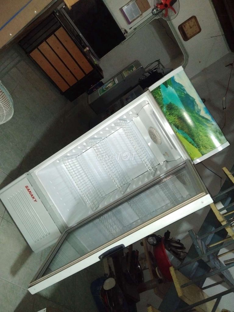 0326954377 - Tủ mát Sanaky 300l cực đẹp làm lạnh nhanh