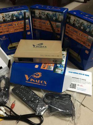 Adroid TV box X2 chính hãng. BH 12 tháng