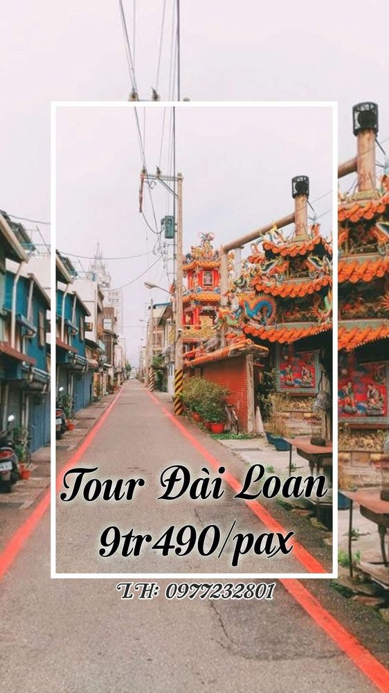 Tour Đài Loan 4N4Đ