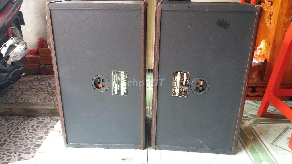 0981973079 - CẶP THÙNG BÁT DALTON DS-602   250WAT LOA 2,5 TẤC