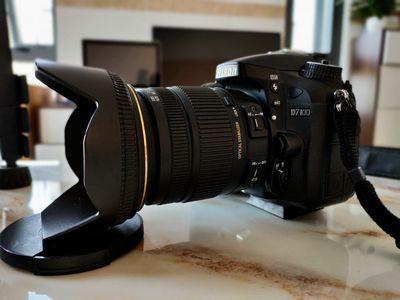 Cần bán máy ảnh Nikon D7100+Lens sigma 17-50 2.8