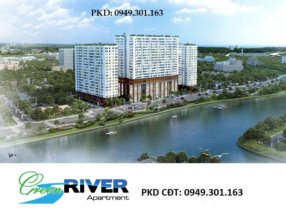 Bán căn hộ green river 71m2 quận 8