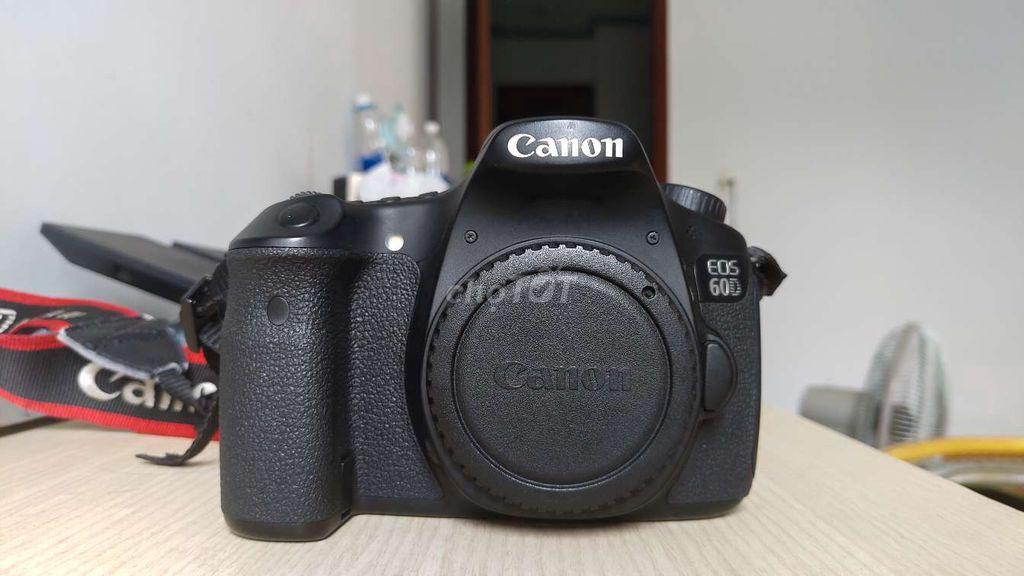 Canon EOS 60D + len Sigma 17-50 f2.8 ít dùng