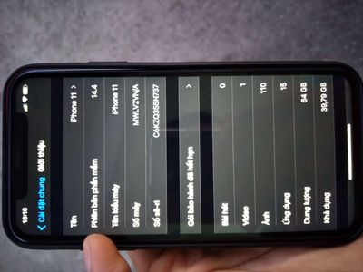 Iphone 11(VN)64g.bao zin