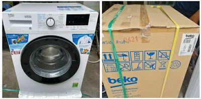 Giặt ngan beko 8 kg WCV8612XB0ST new bh hãng đủ