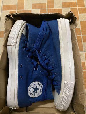 Giày Converse Chính hãng Chuck 2 cồ cao xanh dương
