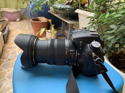 Nikon D700+ len Sigma 17-50 full đồ