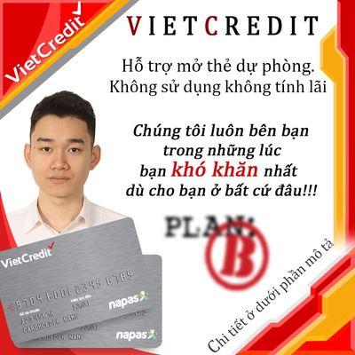 Mở thẻ tín dụng nội địa Vietcredit
