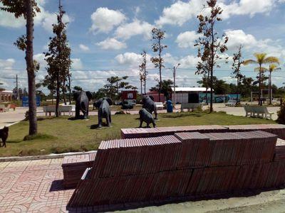 Đất nền mặt tiền chợ Thạnh Phú