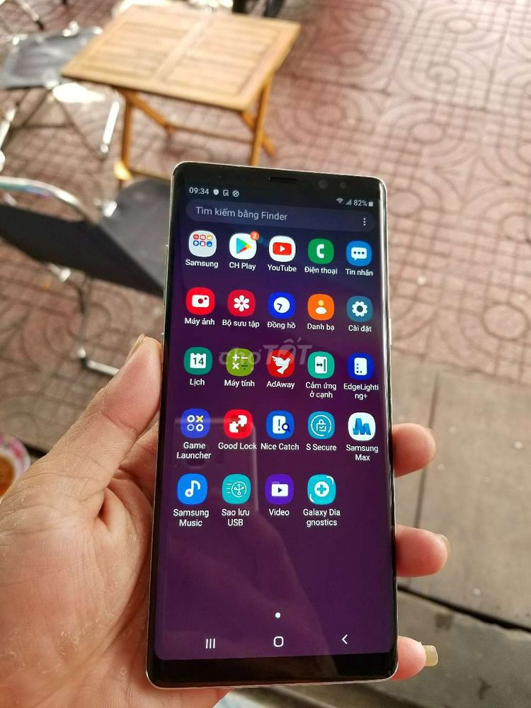Samsung Galaxy Note 8 Vàng 256 GB 2 SIM - Chợ Tốt