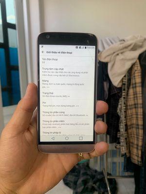 LG G5 Vàng, ram4 , nứt kính xài OK