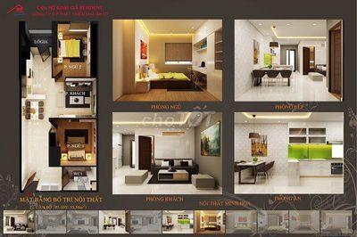 Chung cư Bình Giã Resident 56m² 2 PN Vũng Tàu