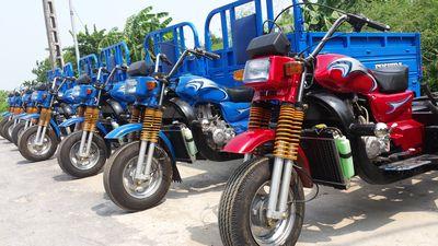 Xe ba gác máy Yinxiang 5A 200cc mới xuất xưởng