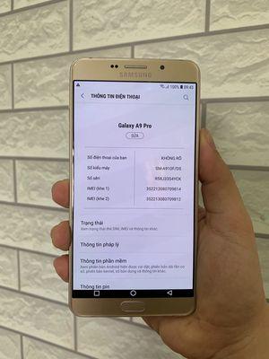 Samsung Galaxy A9 Pro Gold 2 Sim