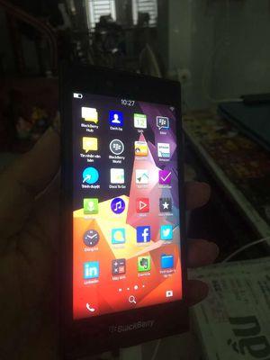 Máy BlacBerry Leap như ảnh chụp tình trạng máy xài