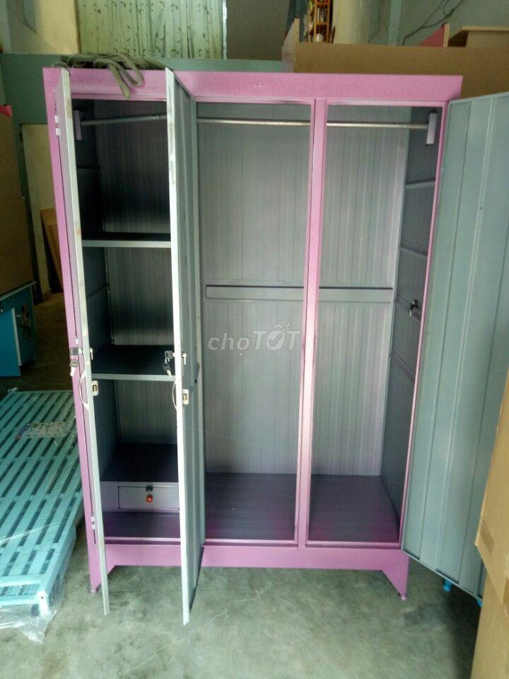 tủ sắt áo quần loại lớn, 123 người xài_VCMP HCM