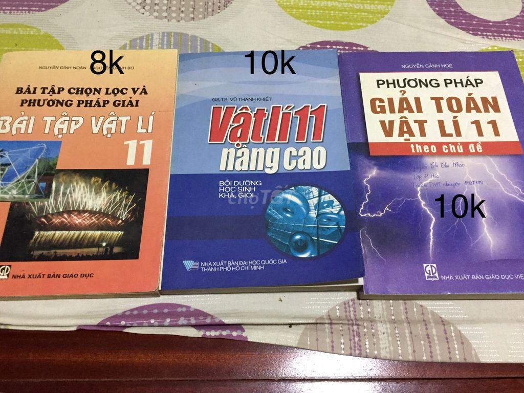 Sách tham khảo vật lý cấp 3