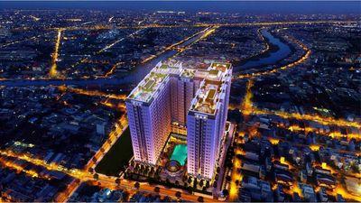 Chung Cư Trung Tâm Quận 8, 79m² 3PN 2WC