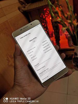 Samsung Galaxy A9 Pro 2016 vàng
