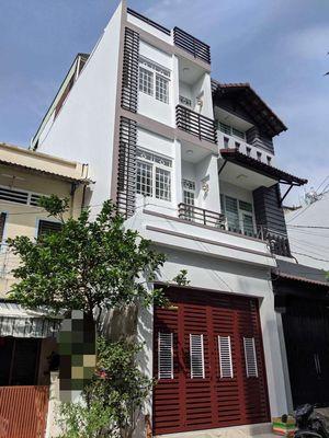 Nhà 4x20m 2 lầu đúc Bình Phú 1 - Sổ hồng gần Metro