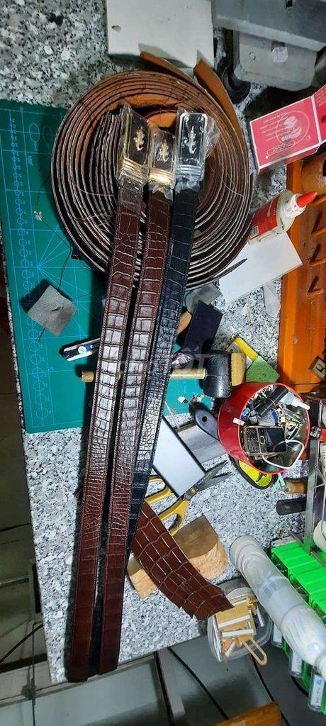 0909818255 - Bán buôn bán lẻ dây lưng cá sấu handmade