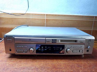 Đầu SONY MXD - D4, Chạy đĩa CD VÀ MD, nguyên zin