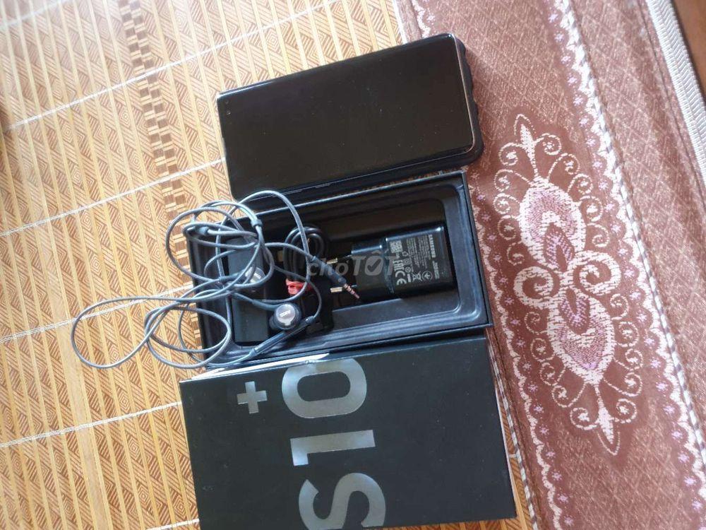 S10 plus 128g black chính hãng đập hộp FPT đẹp 99%