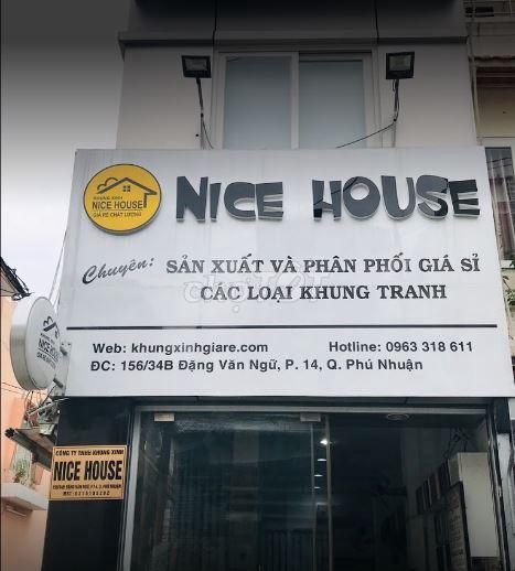 Thợ Đóng Khung Tranh Nice House
