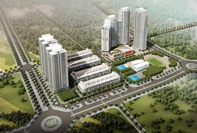 Chung cư Quận Nam Từ Liêm 86m² 3 PN