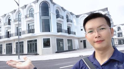 Shophouse Góc 2 Mặt Tiền Chợ An Hòa KĐT Phú Cường