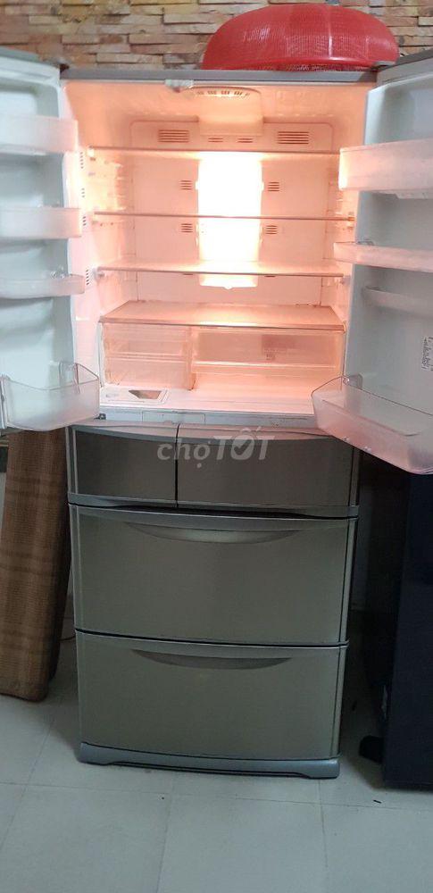 tủ lạnh vip 6 cánh làm đá tự động 500 l panasonic