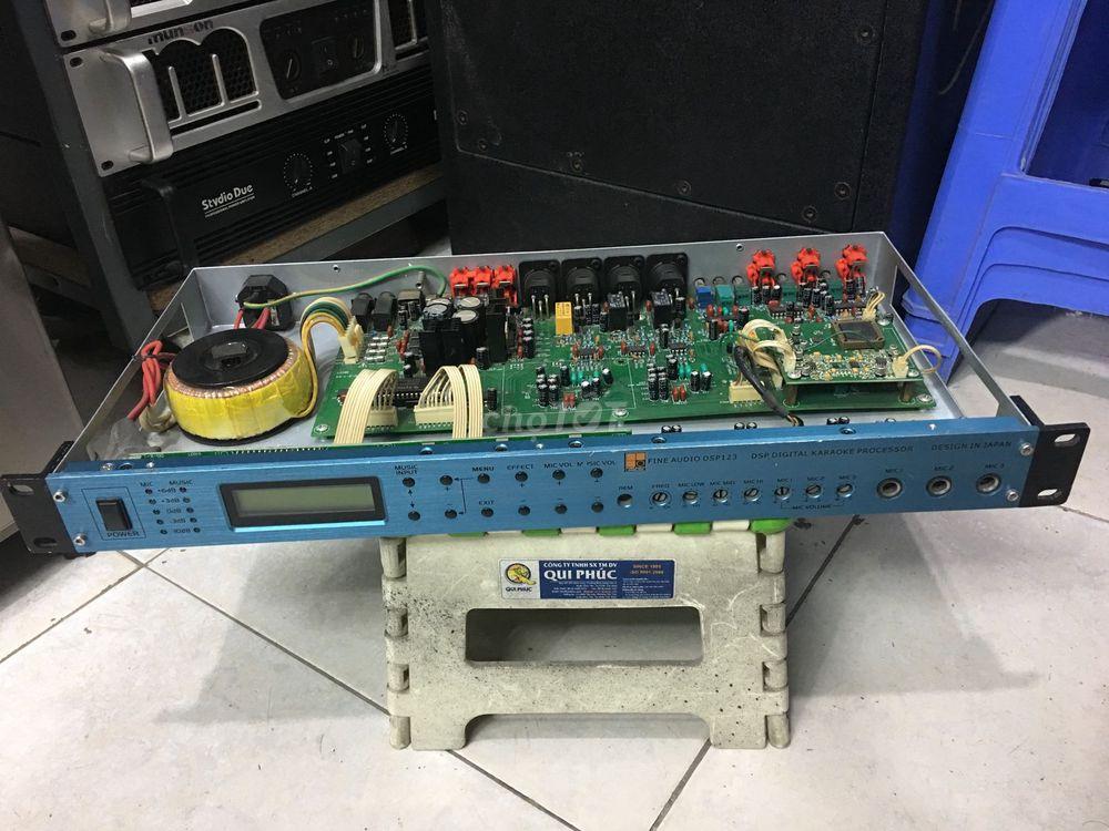 Vang số bãi FINE audio DSP123 công nghệ JaPan