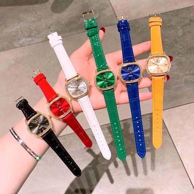 Đồng hồ nữ dây da mặt vuông Az