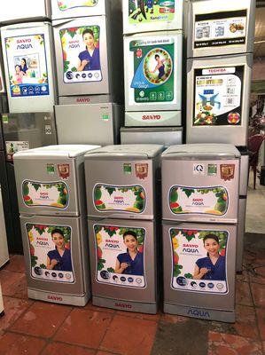 Tủ lạnh Sanyo Aqua 125l , mới 95%, hàng siêu lướt