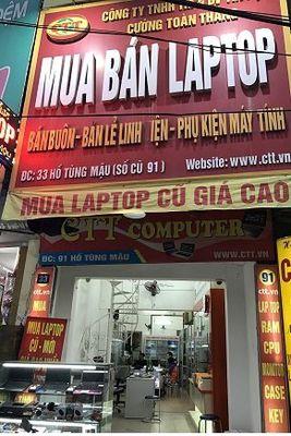 Chuyên: Mua Laptop cũ tại Hà Nội . Mua giá Cao