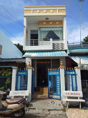 Bán nhà 1trệt 1lầu đường Nguyễn Bỉnh Khiêm