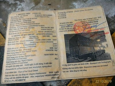 CTY Nguyễn Hoàng Long Cần Tuyển 3 Lái Xe Tải C, B2