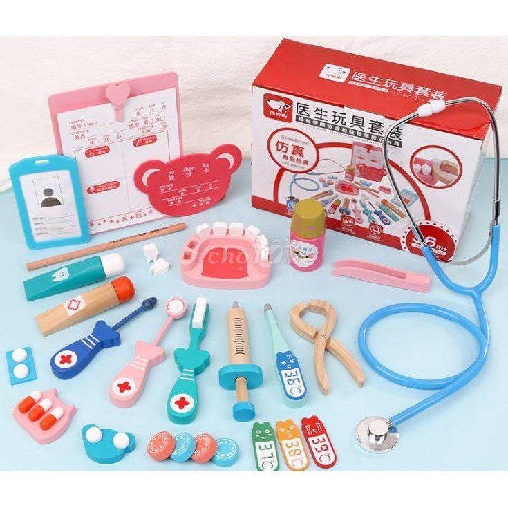 0565702459 - Bộ đồ chơi dụng cụ y khoa cho bác bé