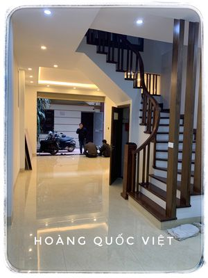 Bán gấp nhà Hoàng Quốc Việt, ô tô vào nhà, 50m2