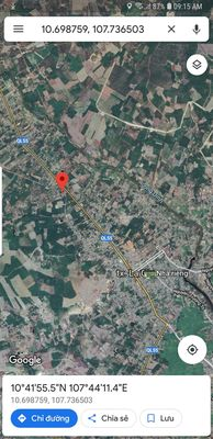 Đất Thị xã La Gi - Bình Thuận 560m²