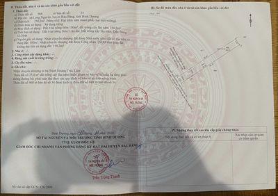 Vỡ nợ cần ra lỗ lô đất 250m2 ngay khu CN Bàu Bàng